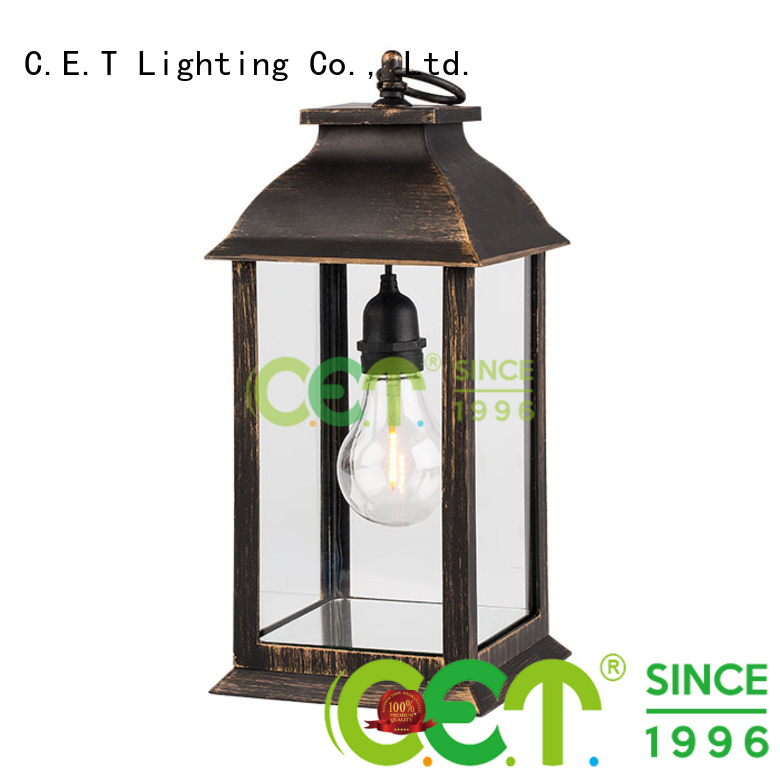 hot sale edison table lamp customized for bedroom