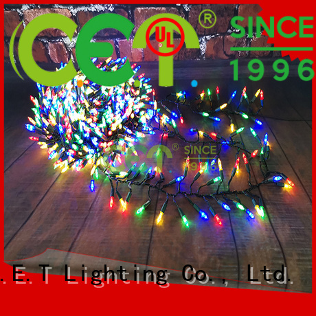 C.ET strong Xmas lights supplier for Christmas