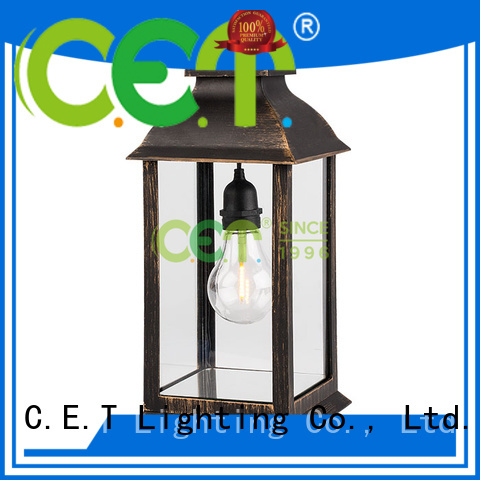 C.ET good selling patio table lamps customized