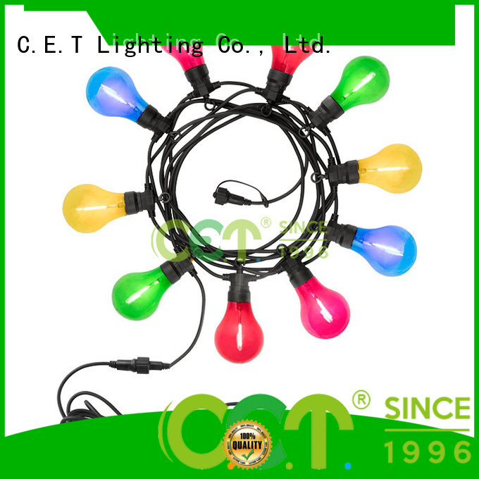 C.ET good selling party patio light customization for party