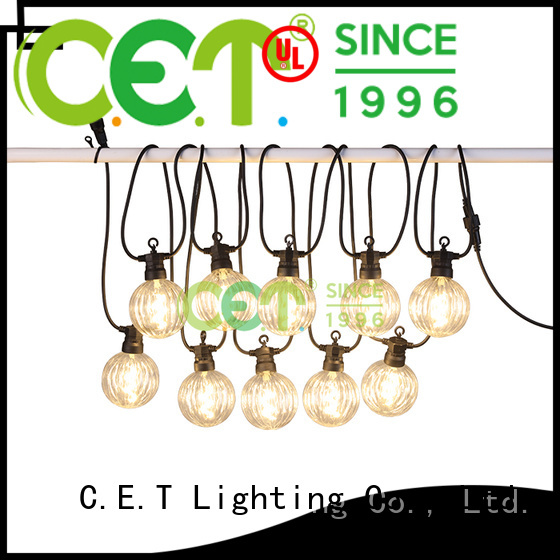 C.ET hot sale party patio light customization for party
