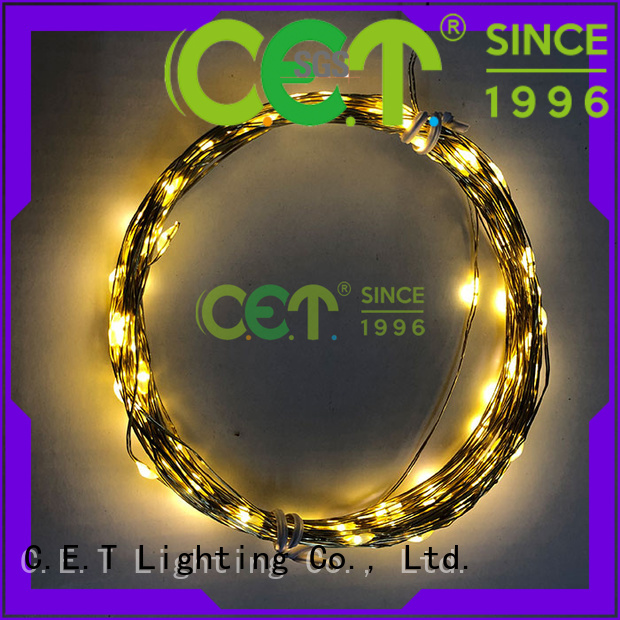 C.ET led fairy lights factory price for outdoor party