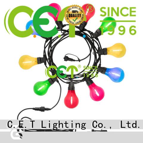 C.ET premium quality party patio light manufacturer for backyard party