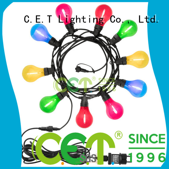 C.ET patio string lights customization for party