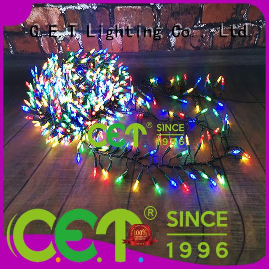 C.ET durable Christmas tree string lights for Christmas