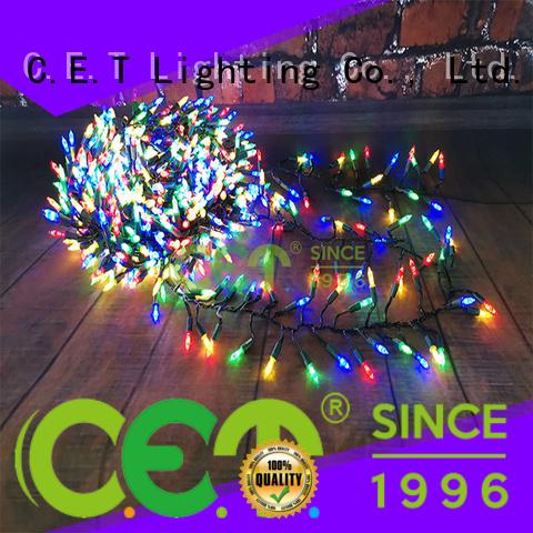 C.ET waterproof Xmas lights wholesale for decoration