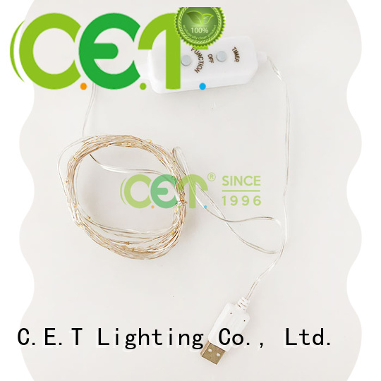 wire fairy string lights factory price for outdoor party