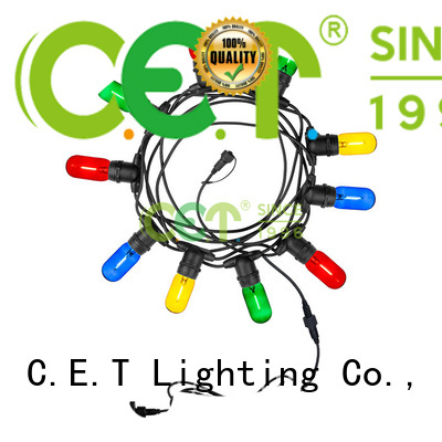 C.ET party patio light customization for party