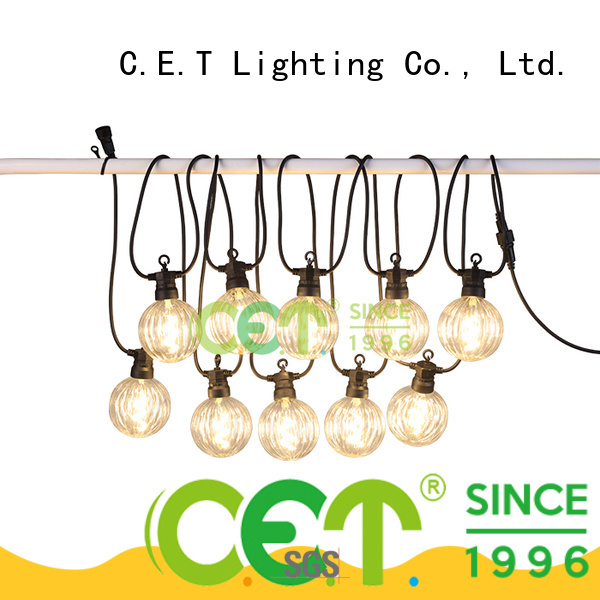 C.ET premium quality patio string lights buy now for backyard party