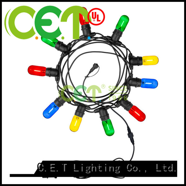 hot sale patio string lights manufacturer for party