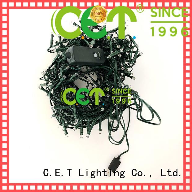 C.ET warm usb powered string lights for Christmas