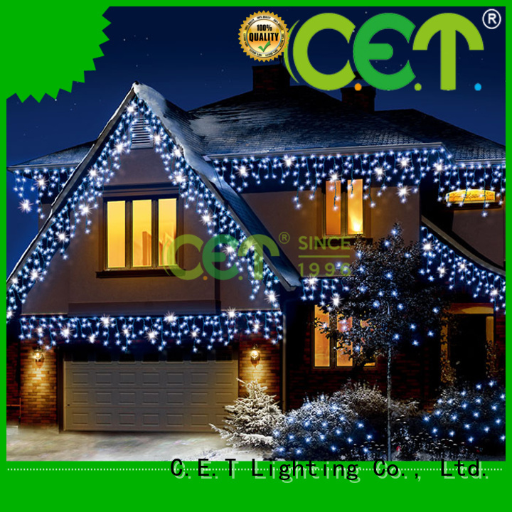 C.ET outdoor icicle lights buy now for decoration