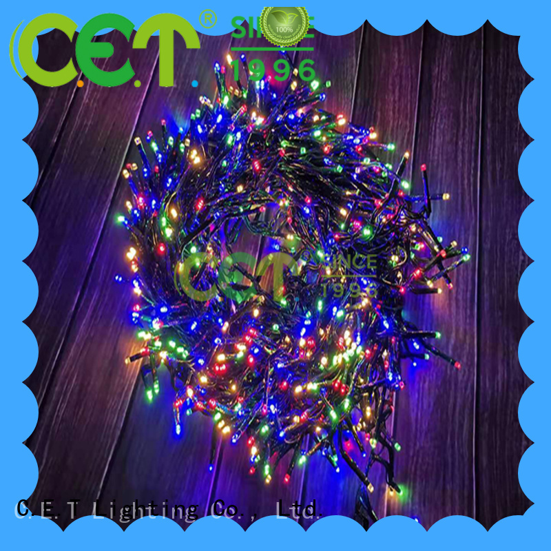 C.ET warm USB Christmas light reputable manufacturer for party