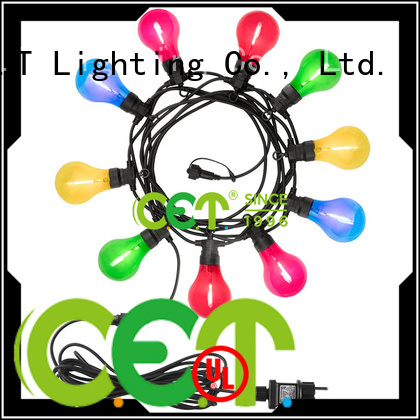 C.ET good selling patio string lights for backyard party