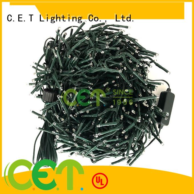 C.ET icicle lights decoration for decoration