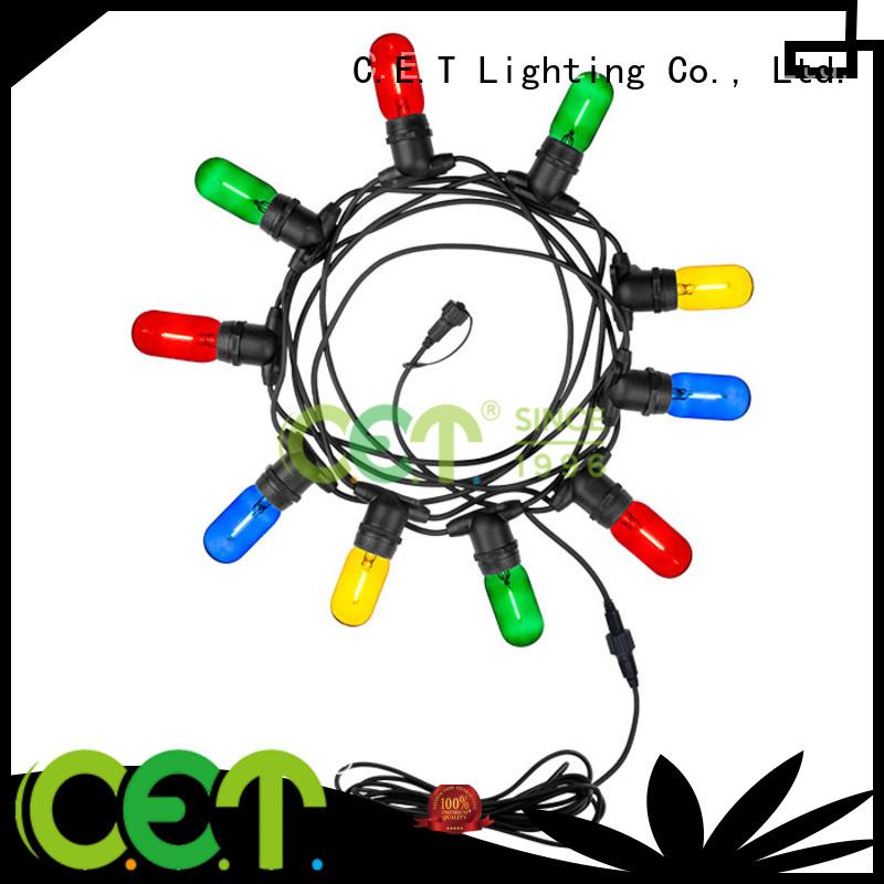 C.ET party patio light for backyard party