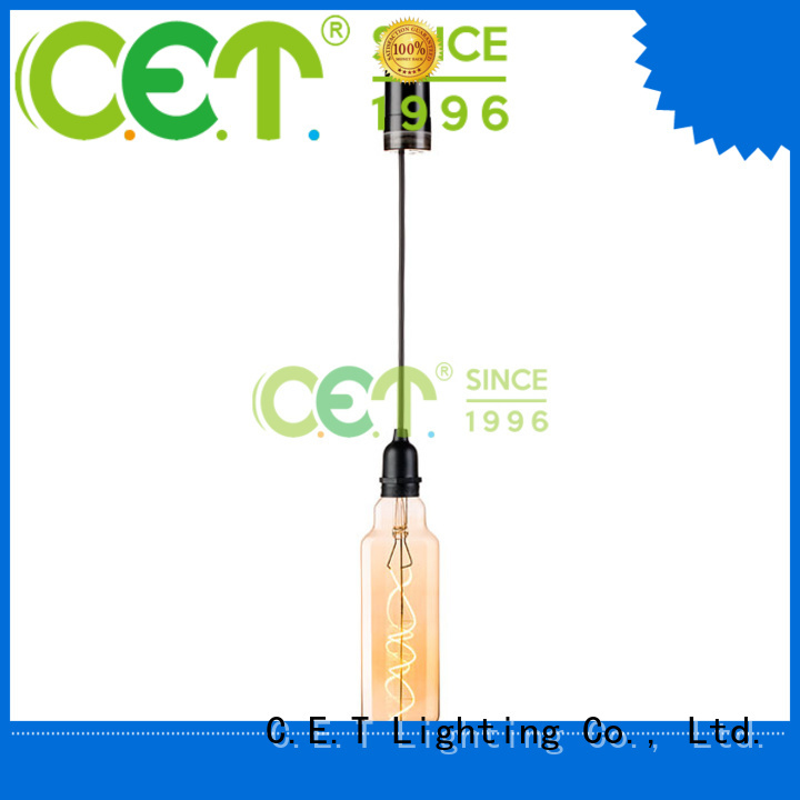 C.ET filament light bulbs order now for night party