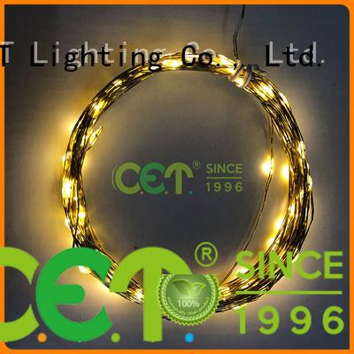 C.ET wire led fairy lights order now for romantic decoration