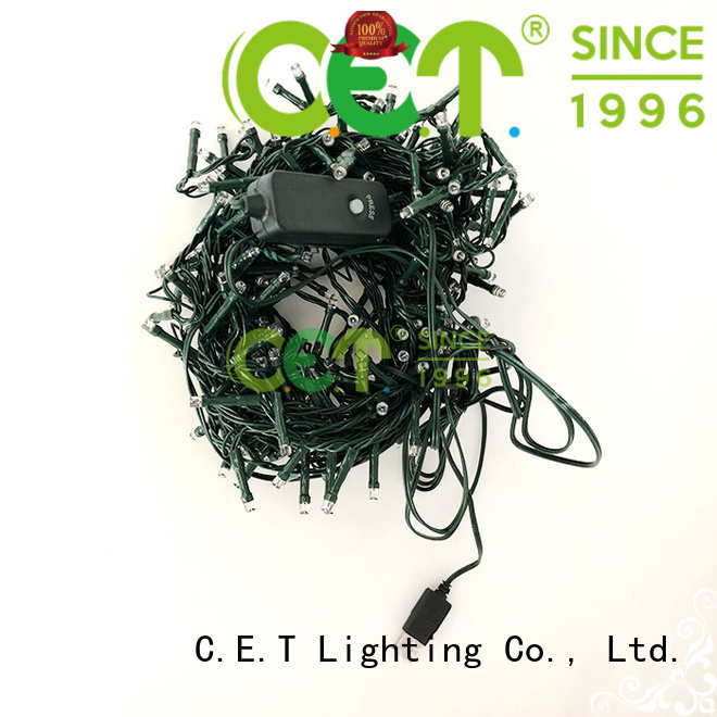 C.ET warm USB Christmas light factory price for decoration