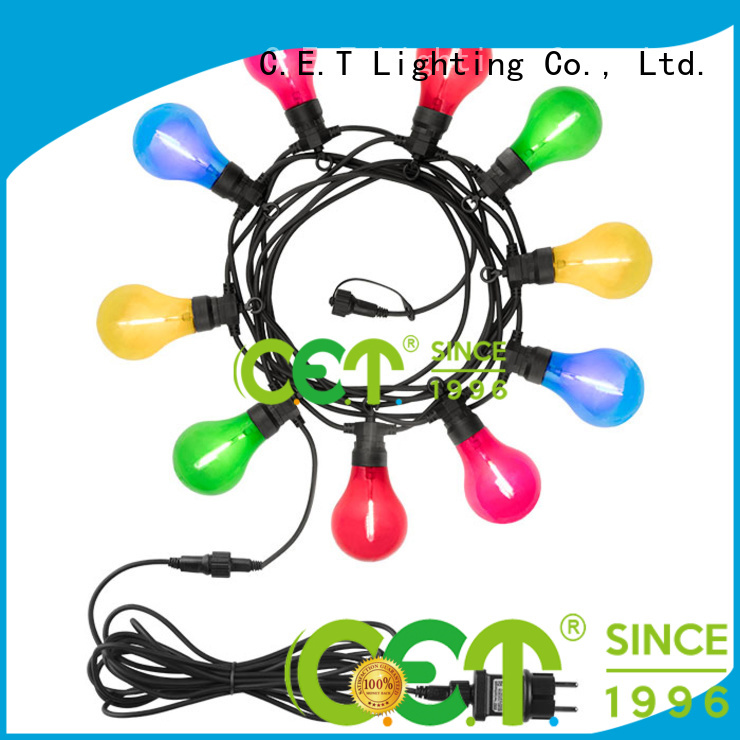 patio string lights customization for garden party C.ET