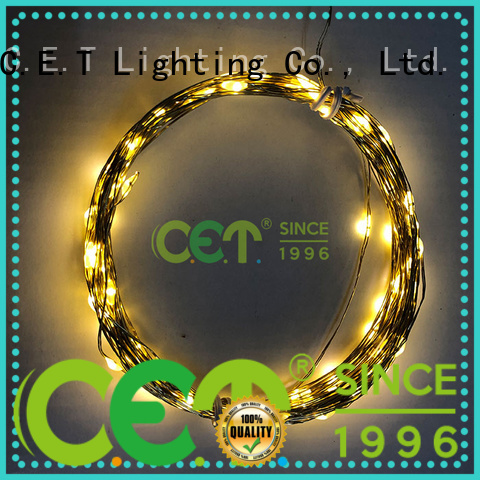 C.ET copper wire christmas lights factory price for romantic decoration