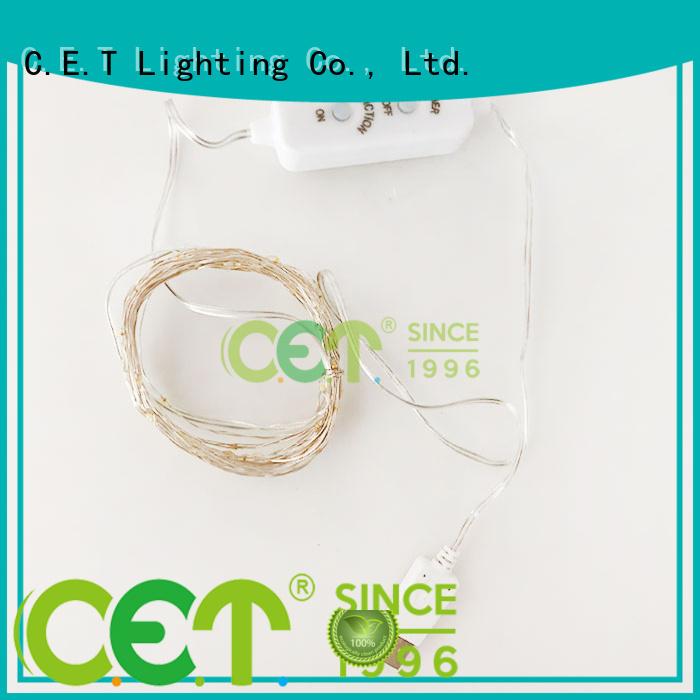 C.ET copper wire light factory price for romantic decoration