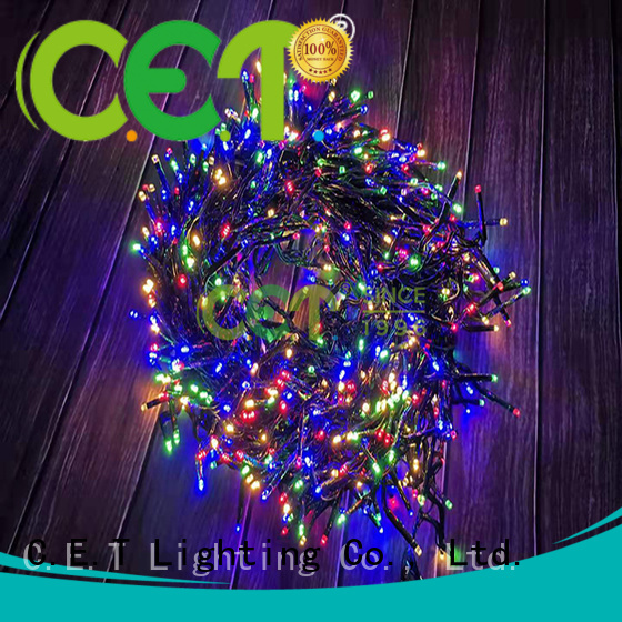 C.ET portable USB Christmas light factory price for party