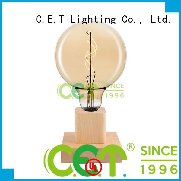 C.ET premium quality edison table lamp customized