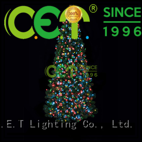 C.ET cluster Christmas lights decoration for decoration