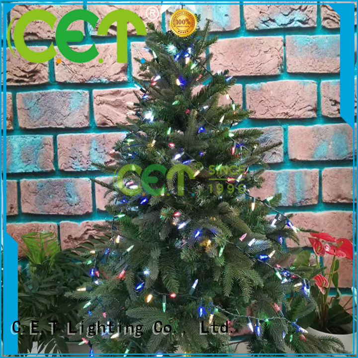C.ET strong retro Christmas light supplier for party