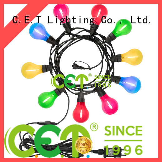 good selling patio string lights customization for backyard party