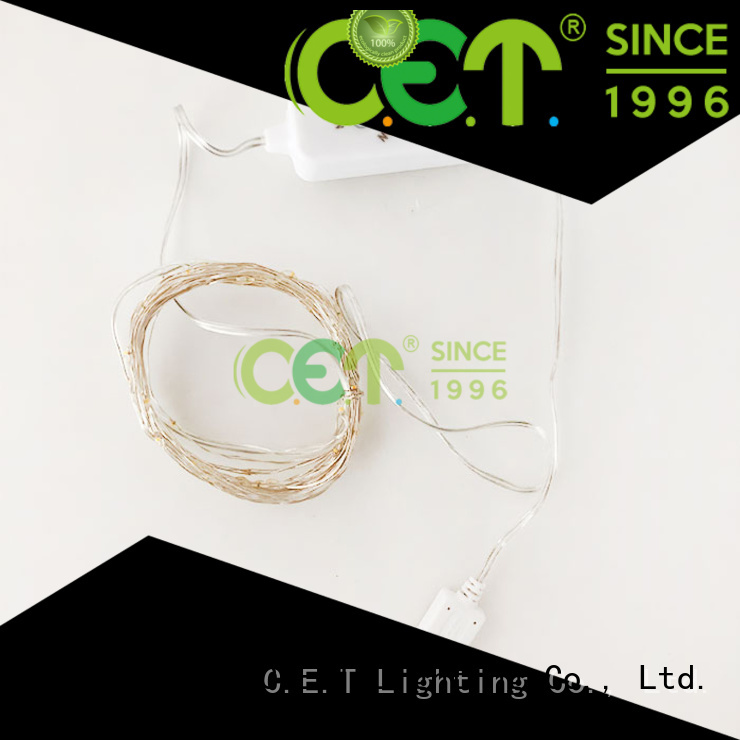 led wire lights factory price for bedroom