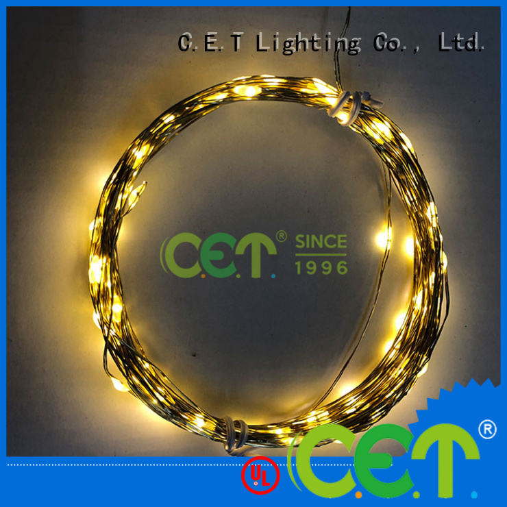 C.ET led led fairy lights factory price for romantic decoration