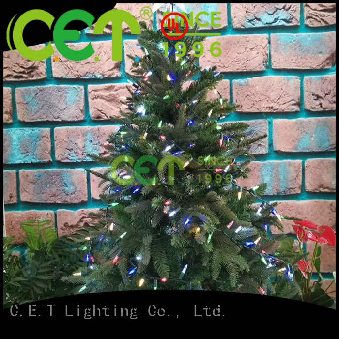 C.ET durable retro Christmas light supplier for party