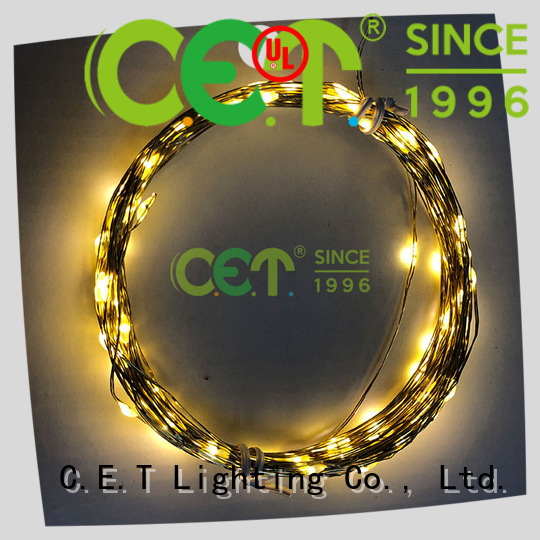 C.ET copper wire light order now for outdoor party