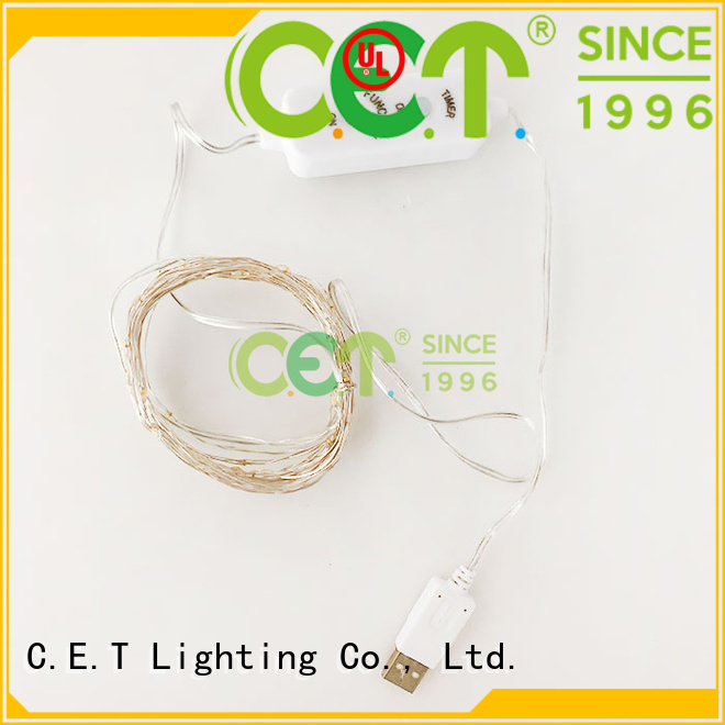 led copper wire light reputable manufacturer for outdoor party