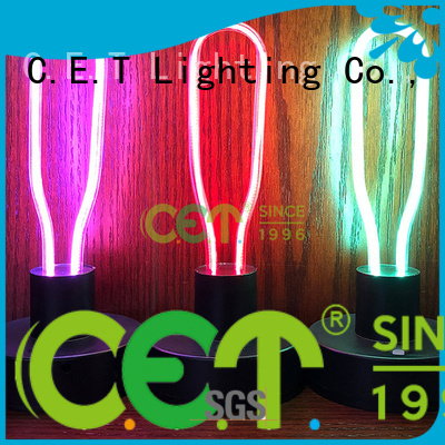 C.ET edison table lamp customized for home decoration
