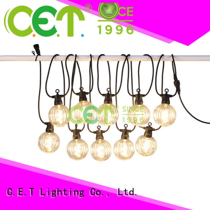 C.ET patio string lights manufacturer for backyard party