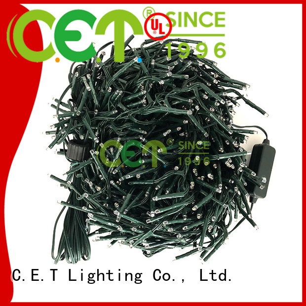 C.ET outdoor string Christmas light wholesale for decoration