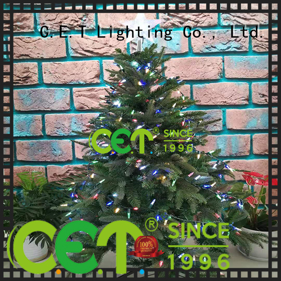 C.ET Xmas lights supplier for decoration