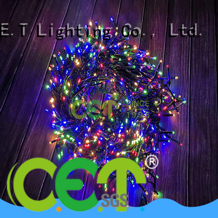 C.ET portable USB Christmas light factory price for decoration