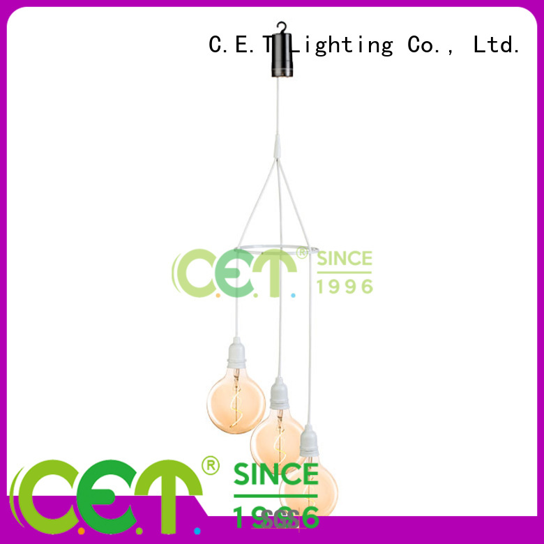 C.ET outdoor edison pendant light supplier for night party
