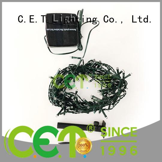 C.ET outdoor cluster Christmas lights for decoration