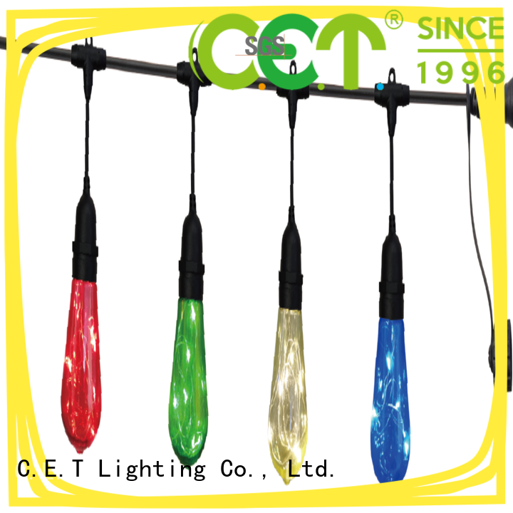 C.ET good selling patio string lights manufacturer for backyard party