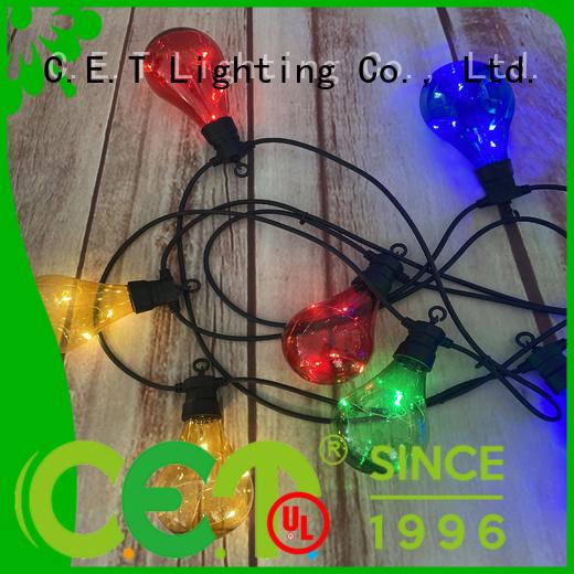 C.ET patio string lights manufacturer for backyard party