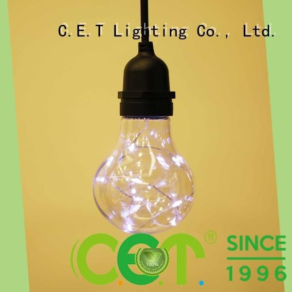 C.ET premium quality party patio light manufacturer for garden party