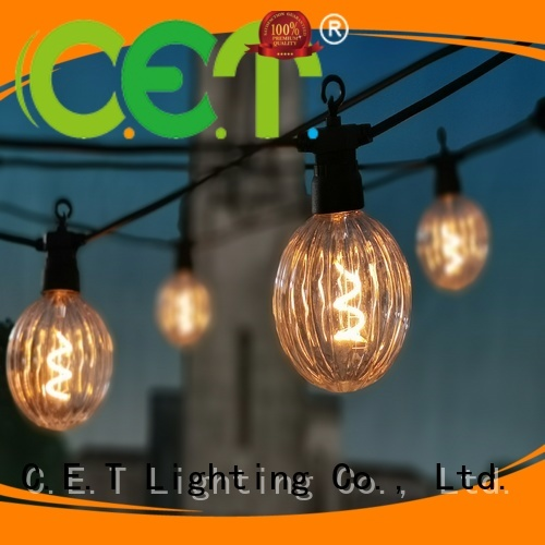 C.ET premium quality patio string lights buy now for party