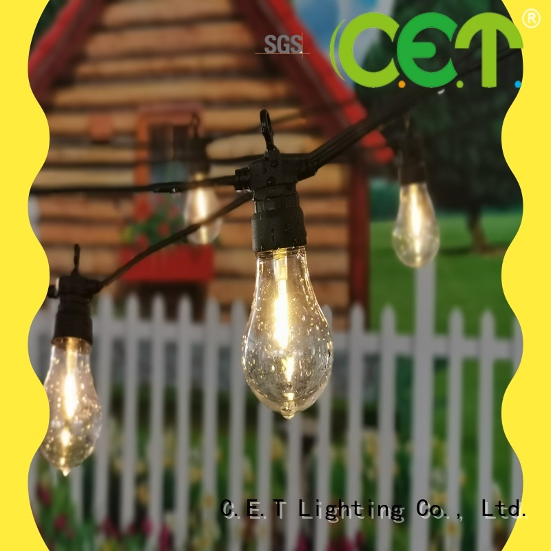 C.ET party patio light for garden party